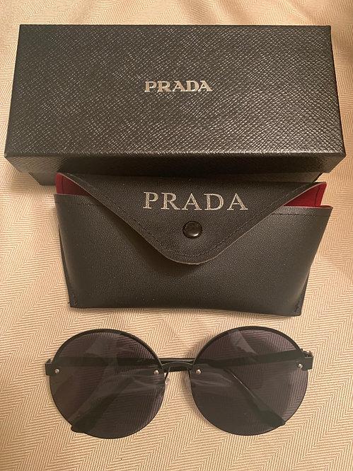 Inspired round Prada with case