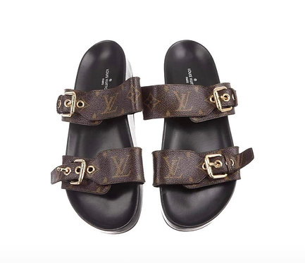 Inspired lv sandals AAA