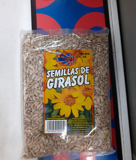 Semillas de girasol 200gm