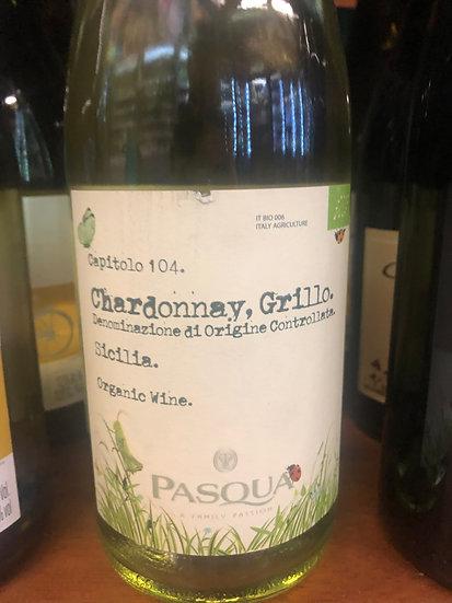 Pasqua Organic Chardonnay Grillo (Italy)