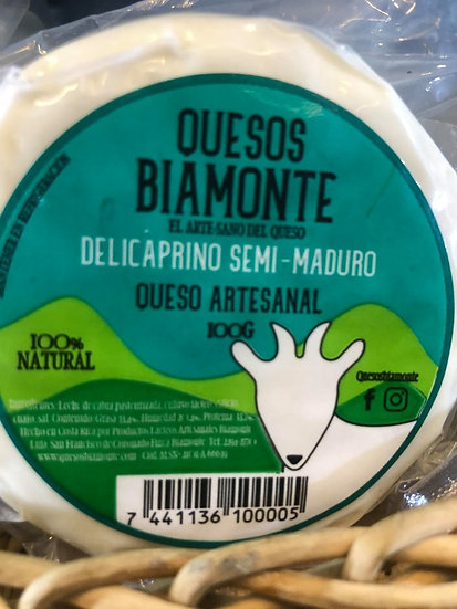 Artisanal Semi-Mature Cheese (Goats Milk)