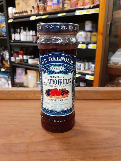 St. Dalfour mermelada 4 frutas 284g