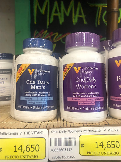 One Daily Multivitamin (Womens / Mens)