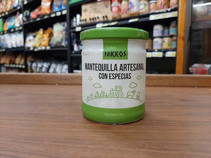 Mantequilla artesanal con especias (230g)