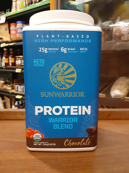 Protein warrior blend chocolate 750g