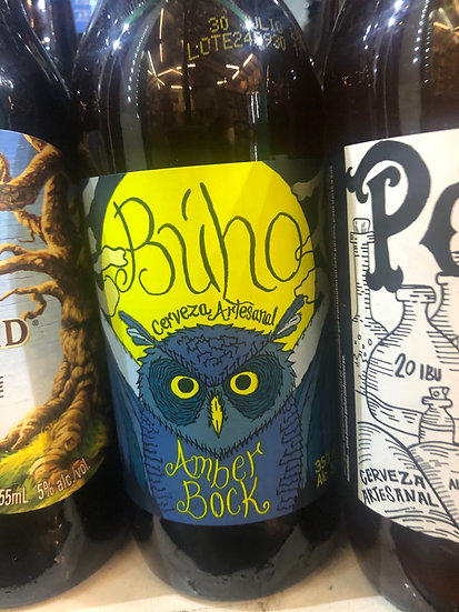 Buho Amber Bock Beer (Domingo 7)