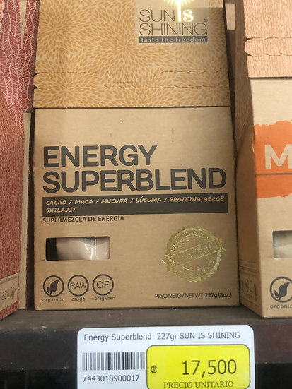 SUN IS SHINING Energy Superblend (227g)