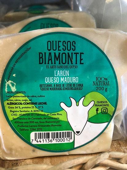 Artisanal Larun Mature Goat's Milk Cheese
