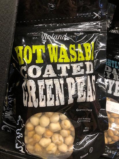 Hot wasabi green peas (125g)