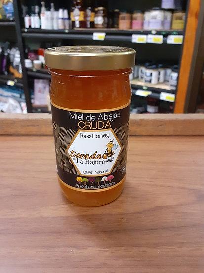 Miel de abejas cruda la bajura 270g