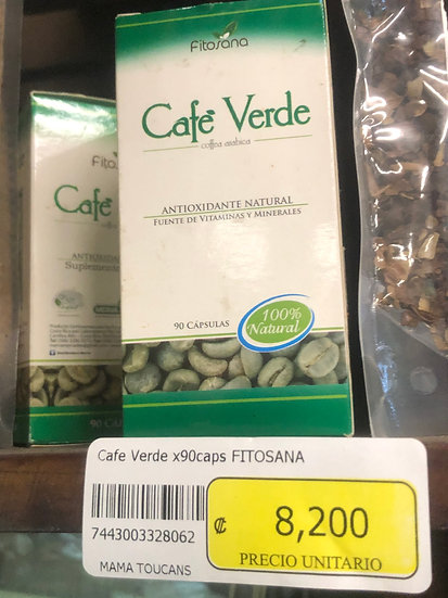 Cafe Verde Capsules (Green Coffee)