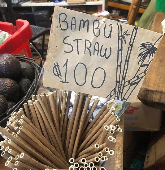 Bambu Straw