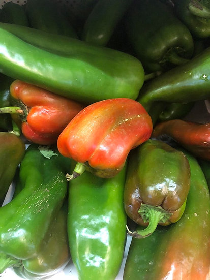 Organic Sweet Peppers