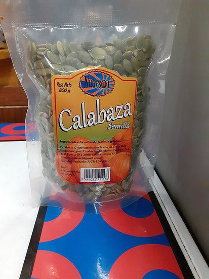 Calabaza semillas Nutresol 200gm