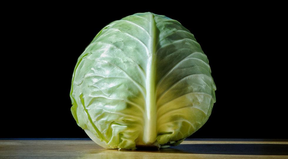 Organic White Cabbage (1kg)