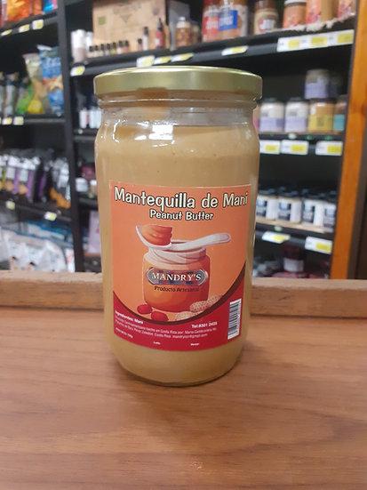 Mantequilla maní 720g mandrys