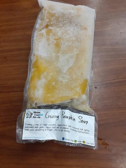 Creamy Pumpkin soup Mono Congo