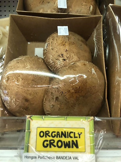 Organically Grown Portobello Mushrooms