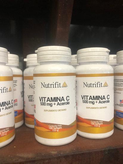 Nutrifit Vitamin C (123g)