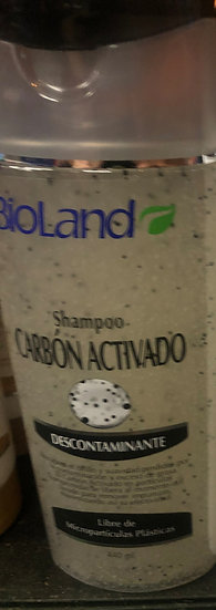 Bioland Activated Carbon Shampoo (440ml)