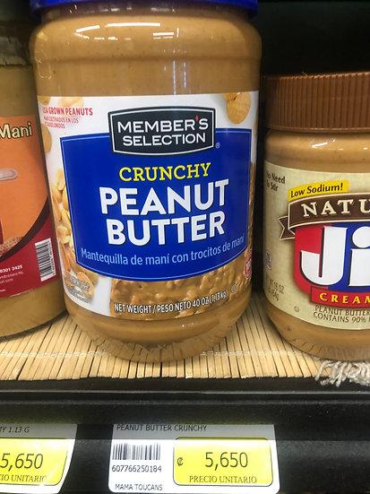Memeber's Selection Crunchy Peanut Butter (40oz)
