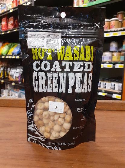 Hot Wasabi coated qrueen peas 125gr