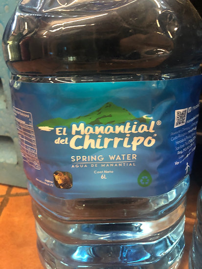Manantial Chirripo Bottled Water (6L)