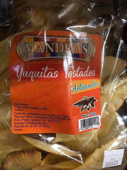 Mandry's Yuquitas (yuca chips)