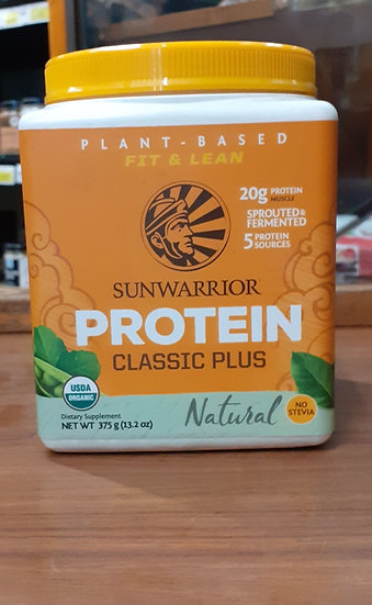 Protein Classic Plus Natural 375g sunwarrior