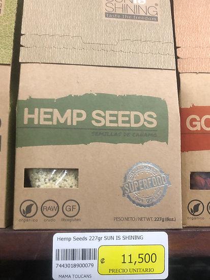 Organic Hemp Seeds (227g)
