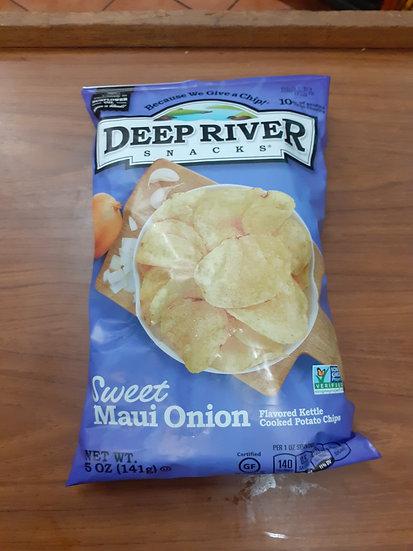 Papas cebolla dulce deep river 141g