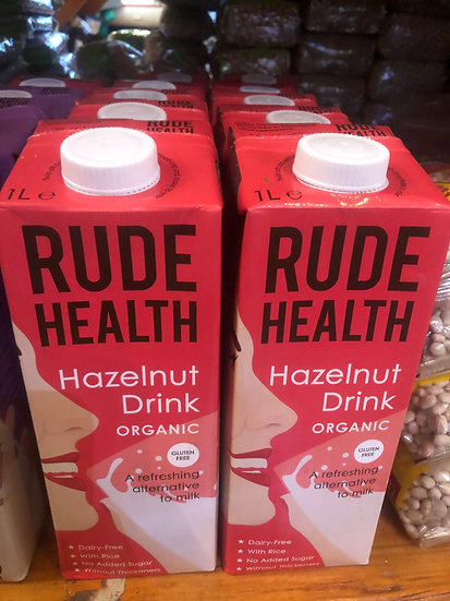 Rude Health Organic Hazelnut Milk (1L)