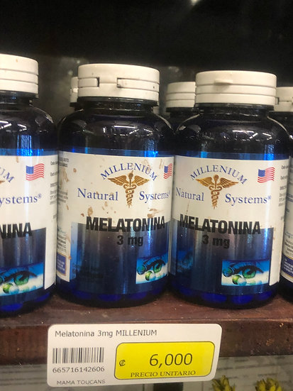 Melotonin (3mg/60 Capsules)