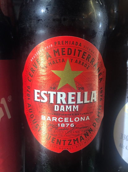 Estrella Damm Beer 330ml