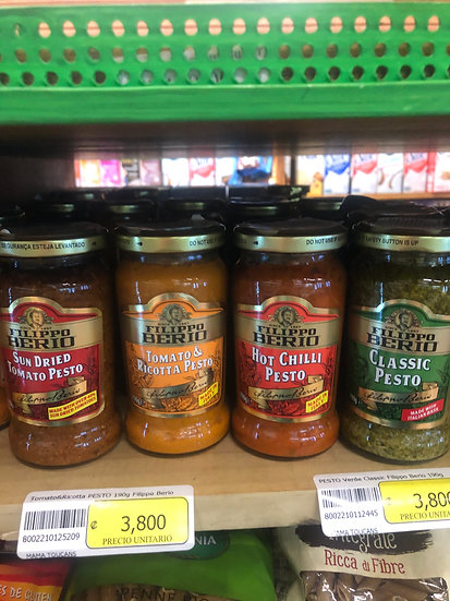 Filippo Berio Jarred Pesto (4 Varieties)