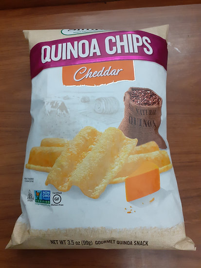 Simply7 quinoa chips cheddar 3.5oz