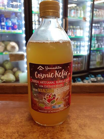 Cosmic kefir manzana jengibre