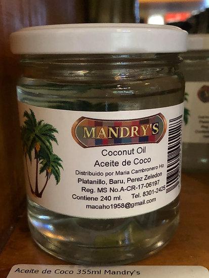 Mandry's Coconut Oil (240ml)