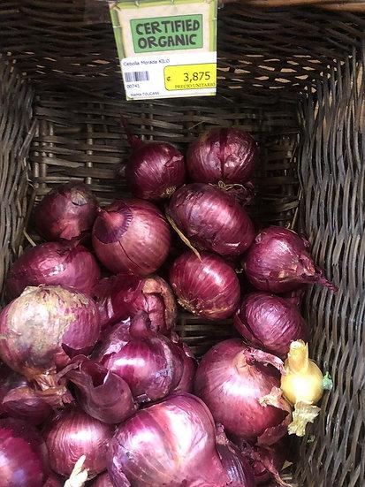 Organic Purple Onions (1kg)