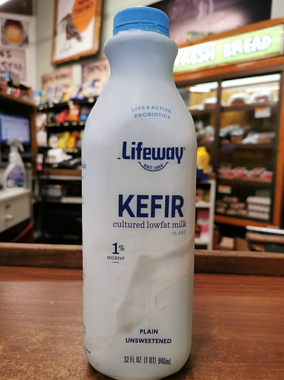 Kefir (yogurt) Plain Unsweetened (946mL)