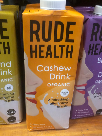 Rude Health Organic Cashew Milk (1L)