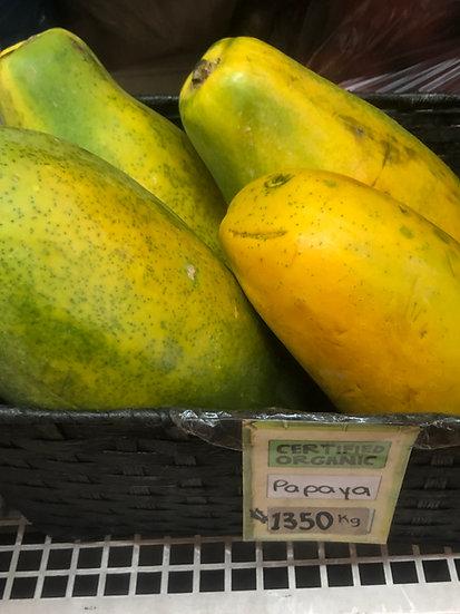 Organic Papaya (1kg)