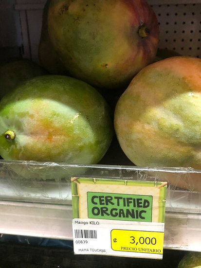 Organic Mango (1kg)