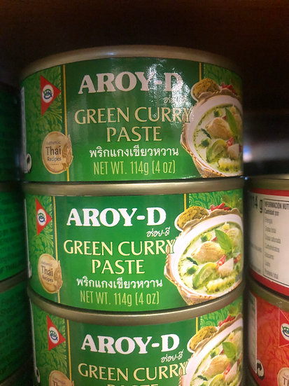 Aroy-D Canned Curry Paste (Red, Green)