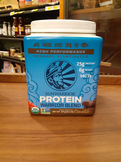 Protein Warrior blend chocolate