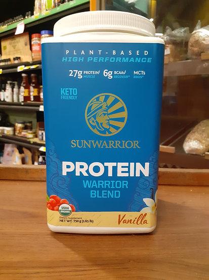 Protein warrior blend vanilla 750g