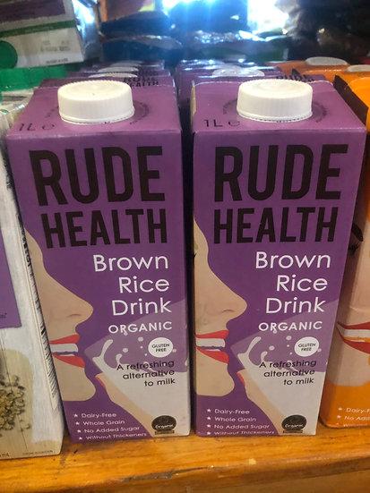 Rude Health Organic Rice Milk (1L)