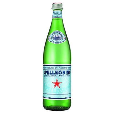 San Pellegrino Sparkling Mineral Water (750ml)