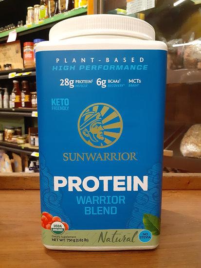 Protein warrior blend natural 750g