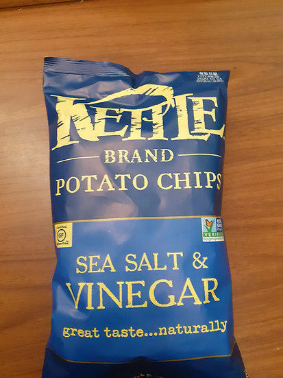 Kettle sea salt and vinegar 5oz